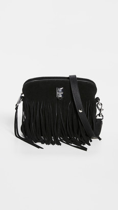 Rebecca Minkoff Darren Small Crossbody Bag with Fringe