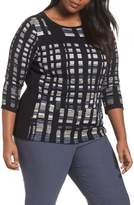 Nic+Zoe Plus Size Women's Crystal Cove Sweater