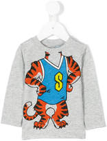 Stella McCartney tiger print top