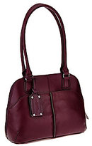 Tignanello As Is Leather Multi Compartment Satchel