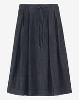 Toast Denim Gathered Waist Skirt