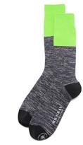 Mr. Gray Hi Vis Colorblock Socks