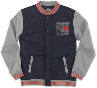 Red Jacket NHL Ember NY Rangers Varsity Jacket