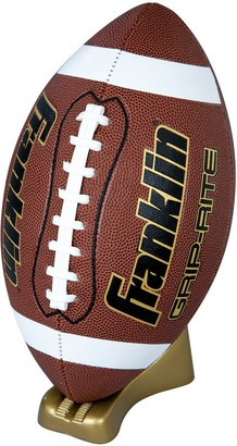 Franklin Sports Youth Official Grip-Rite Pump & Tee Football Set