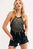 Free People Sparks Fly Embellished Cami by Intimately at Free People, Black, XS