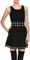 Designers Remix Black Suede Dress