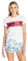 Juicy Couture Black Label Women's Knt 74 Palisades Graphic Tee