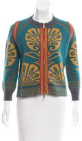 Just Cavalli Patterned Wool Cardigan