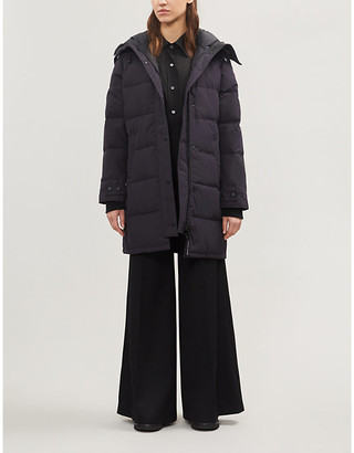 Canada Goose Shelburne hooded quilted shell-down jacket