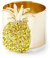 Joanna Buchanan Yellow Pineapple Napkin Ring