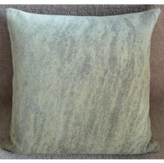"Pergamino Light Brindle DS Cowhide Pillow Cover 15""x15"""