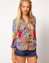 Denim & Supply By Ralph Patchwork Shirt