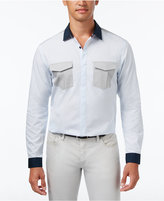 INC International Concepts Men's Darrow Colorblocked Shirt, Only at Macy's
