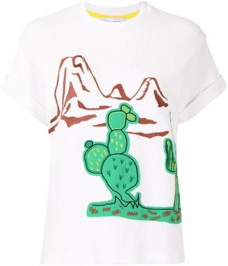 Mira Mikati cactus print T-shirt