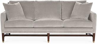 Michael Thomas Collection Arden Sofa - Gray Velvet