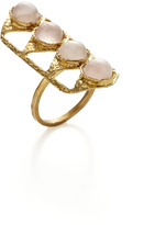Lulu Frost Rose Quartz Dreamlink Ring