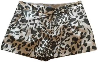 Diane von Furstenberg Multicolour Silk Shorts