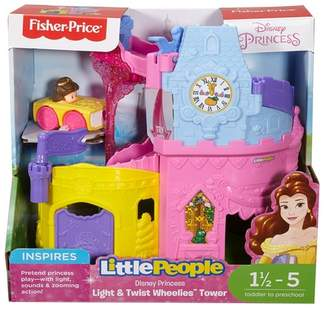 Fisher-Price x Disney Princess Light & Twist Wheelies(TM) Tower by Little People(R)