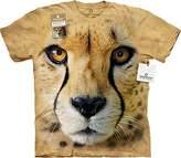The Mountain Big Face Cheetah Endanger USA T-Shirt