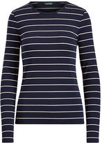 Ralph Lauren Petite Cotton Long-Sleeve Shirt