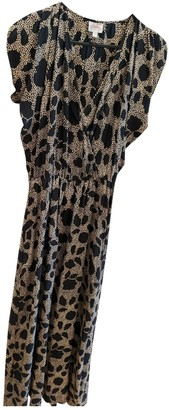 Parker Black Silk Dress for Women