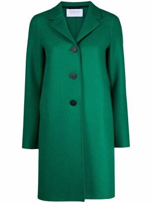 Harris Wharf London Single-Breasted Boxy Coat