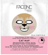Nails Inc Face Inc Cat Nap Sheet Mask - Brightening