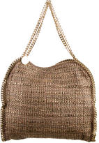 Stella McCartney Metallic Tweed Small Falabella Tote