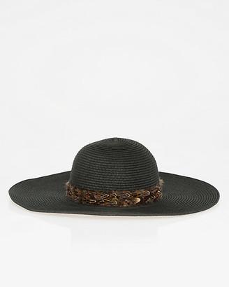 Le Château Woven Wide Brim Floppy Hat
