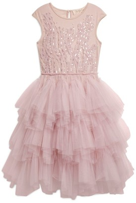Tutu Du Monde Bejewelled Frills Tutu Dress