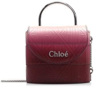 Chloé Aby Embossed Crossbody Bag
