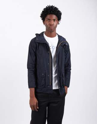 Barbour Hooded Bedale Casual Navy