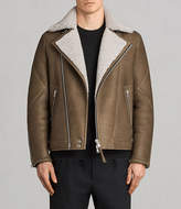 AllSaints Bronx Shearling Biker Jacket