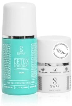 Sway Natural Detox Deodorant and Dusting Powder Set - Original Sensitive Formula