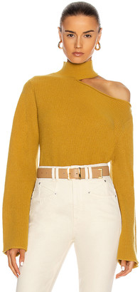 RtA Langley Sweater in Mustard | FWRD