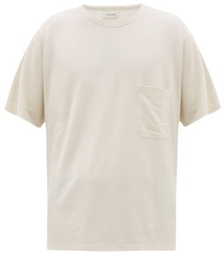 Lemaire Patch-pocket Cotton T-shirt - White
