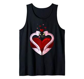 Flamingos In Love Valentine's Day | Bird Lovers Gift Tank Top