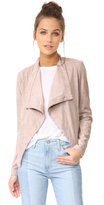 BB Dakota Nanette Drape Front Jacket