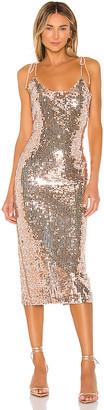 NBD Desdemona Embellished Midi Dress