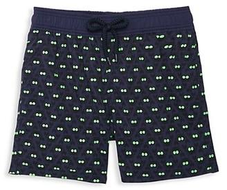 Vilebrequin Little Boy's & Boy's Crabs Glow-In-The-Dark Swim Shorts