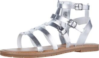 Nina Girls Zip Sandal