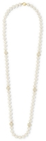 Louise et Cie Glass Pearl & Pavé Bead Necklace