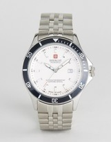Swiss Military Watch With Stainless Steel Bracelet