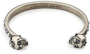 Alexander McQueen Embellished Bangle