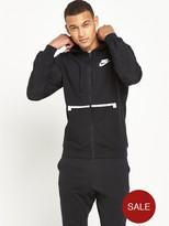 Nike Sportswear Full Zip Hybrid Hoodie