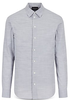 Giorgio Armani Emporio Long Sleeve Chambray Shirt
