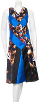 Proenza Schouler Protest Print A-Line Dress