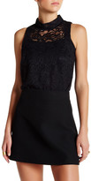 David Lerner Sleeveless Lace Blouse