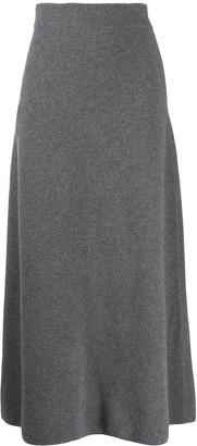 Le Kasha Melrose cashmere skirt