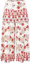 MinkPink Mink Pink Bed of roses culotte pyjama pant